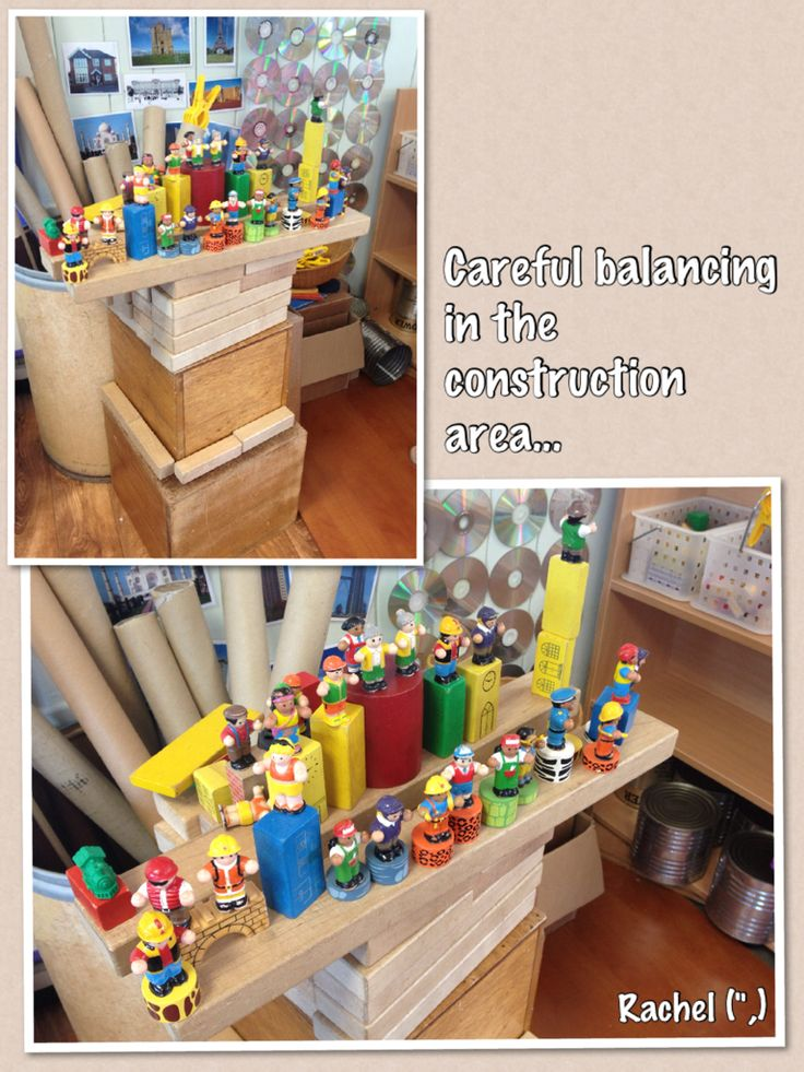 """Careful balancing in the construction area... from Rachel ("""",)"""