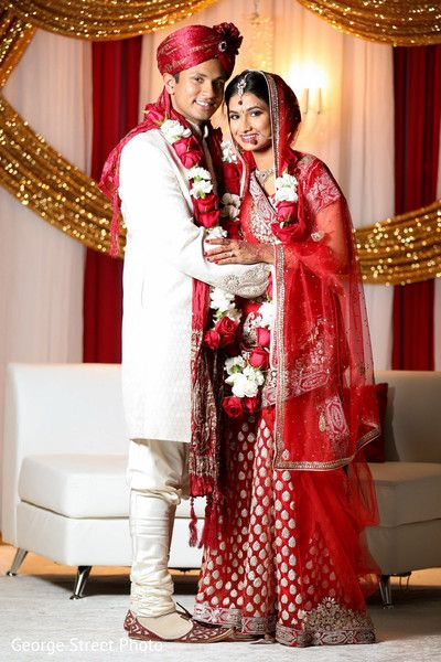 Indian Wedding Photography Couple Photo Shoot Ideas Traditional Bride Wearing Bridal Saree