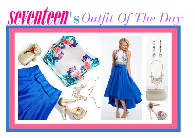 """""""Seventeen's Outfit Of The Day!"""" by camillelavie ❤ liked on Polyvore"""