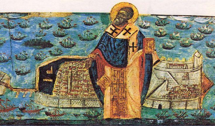 MYSTAGOGY: The Great Miracle of St. Spyridon on August 11, 1716