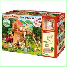 Sylvanian Families Tree House Gift Set Code SF3353 EAN UPC 8718637033538 http://www.greenanttoys.com.au/shop-online/sylvanian-families/sylvanian-families-houses/sylvanian-families-tree-house-gift-set/