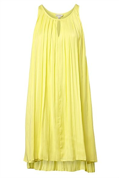 Pleat Trapeze Dress #witcherywishlist