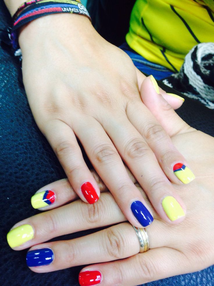 Colombia nail World Cup
