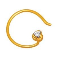Buy #Gold nose rings online at lowest price from Rediff Shopping. Variety id Gold nose rings are available.