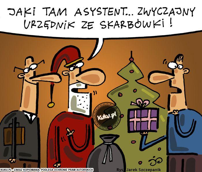 "Komiks ""Asystent św. Mikołaja"" (źródło: http://kuku.pl)"