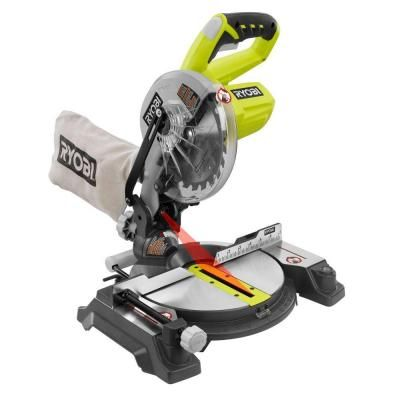 Ryobi One Plus 18-Volt 7-1/4 in. Miter Saw (Tool-Only)-P551 at The Home Depot