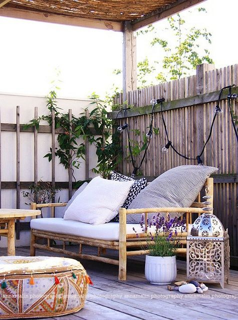 Eclectic Outdoor Patio Design | HomeDesignBoard