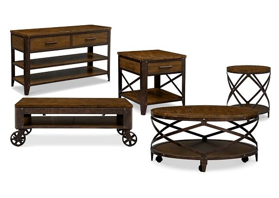 Best American Signature Furniture Shortline Occasional Tables 400 x 300