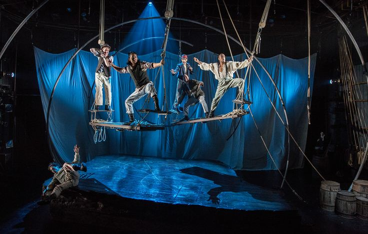 MOBY DICK (Lookingglass Theatre, Alliance, Arena Stage, South Coast Rep)