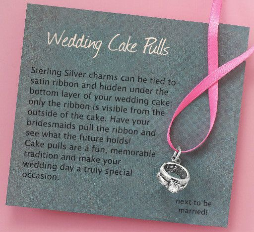 Sterling Silver Cake Pulls