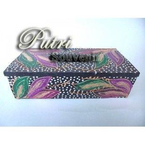 Tempat Tissue Box Gliter