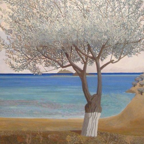 Κώστας Παπανικολάου, «Χωρίς τίτλο», 2012, 100 x 100 εκ., Γκαλερί Σκουφά, ευγενική παραχώρηση του καλλιτέχνη, ΓΚΑΛΕΡΙ ΣΚΟΥΦΑ (Αθήνα)