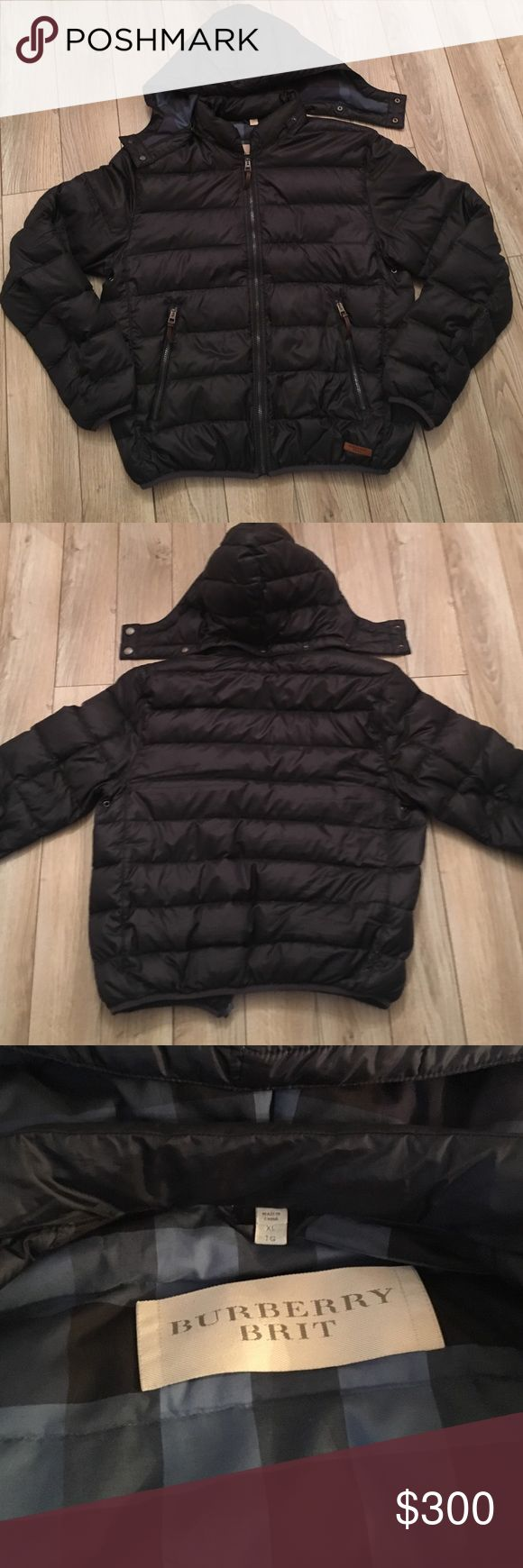 Burberry Men's puffer coat size XL Used men's coat good condition please see photos, my husband said it runs small that's why he got an xl. any questions please don't hesitate to ask thanks!! Burberry Jackets & Coats Puffers