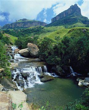 Tugela Falls - Royal Natal National Park,South Africa. PopularAttractions