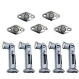 Seismic Audio - (5) NEW SILVER Ceiling Wall Home Speaker Brackets Mounts BOSE - Seismic Audio - (5) NEW SILVER Ceiling Wall Home Speaker Brackets Mounts BOSE    Model # 5 Silver Home MountsPack of 5 Mounts/Brackets - Holds up to 6 lbs each - Fits mos