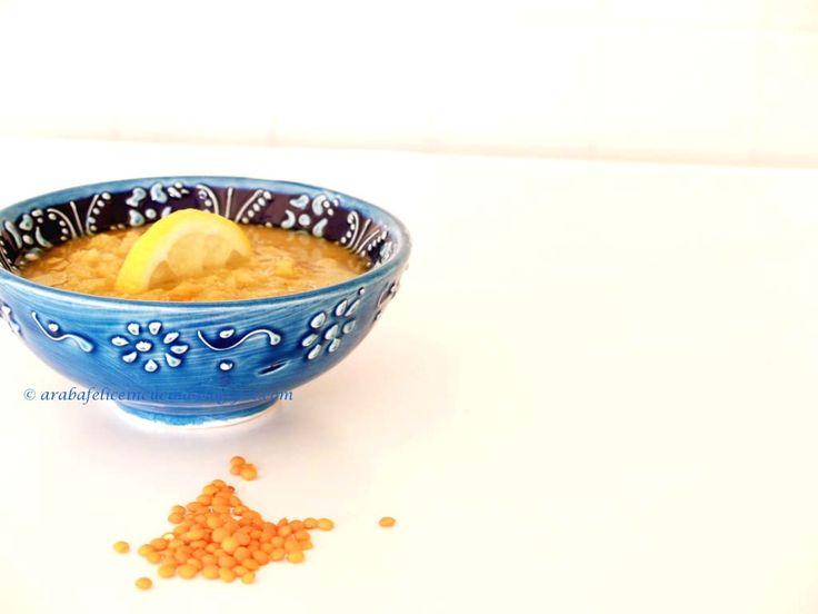 Arabafelice in cucina!: Shorba Al-Adas (zuppa araba di lenticchie al limone)