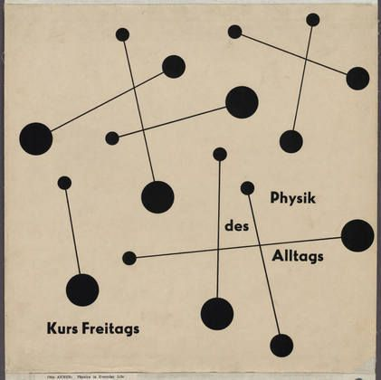 MoMA | The Collection | Otl Aicher (also known as Otto Aicher). Physik des Alltags. 1949-51