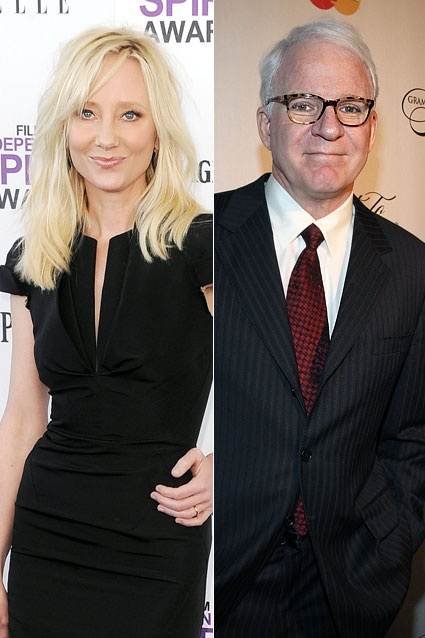 Who knew Anne Heche dated Steve Martin?! Before her highly publicized  relationship with Ellen. Fine HairCelebrity CouplesSteve ...