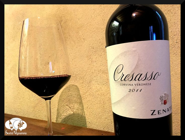 Score 91+/100 Wine review, tasting notes, rating of Zenato Cresasso Corvina Verona, Italy. Description of aroma, palate, flavors. Join the experience.