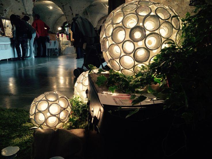 Ex arsenale - verona | festivsl dell'hand made 2015 | astrolamp - lampade in ceramica | chiarasonda.it