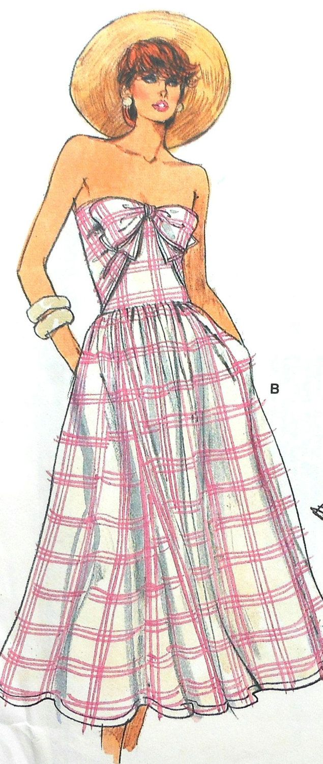 Vintage Vogue Sundress Sewing Pattern