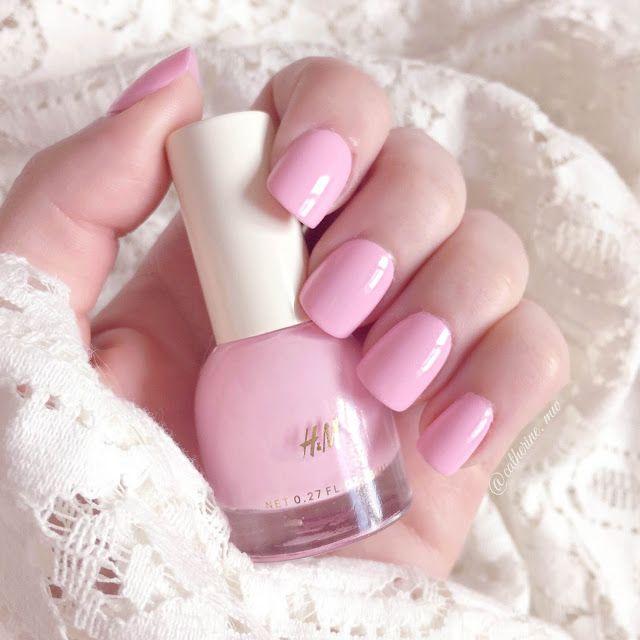 H&M Bubblegum Nail Polish lovecatherine.co.uk Instagram catherine.mw xo