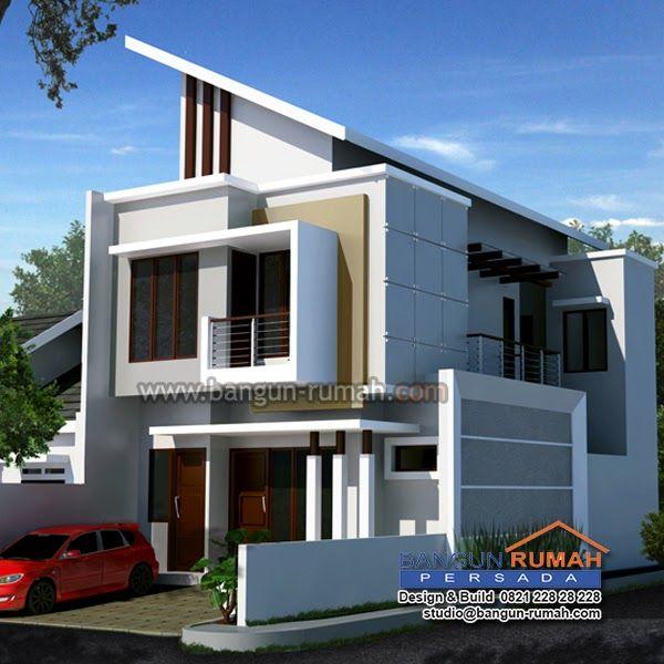 Desain Rumah 2 Lantai Di Lahan 7 X 17 M Hook Brp 705 Februari 2016 Laman 2 Rumah Minimalis Realis Desain Rumah Mewah 2 L Desain Rumah Rumah Minimalis Rumah