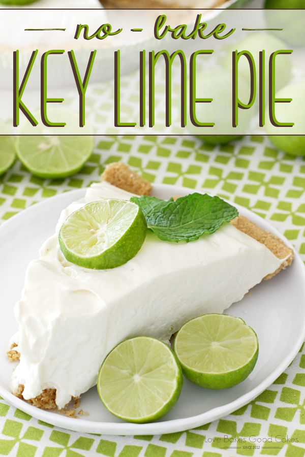 Get a taste of the Florida Keys with this easy and delicious No-Bake Key Lime Pie!