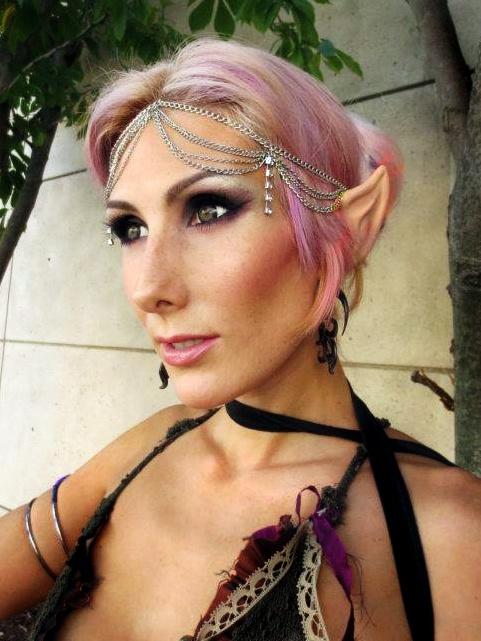 Elf makeup costume