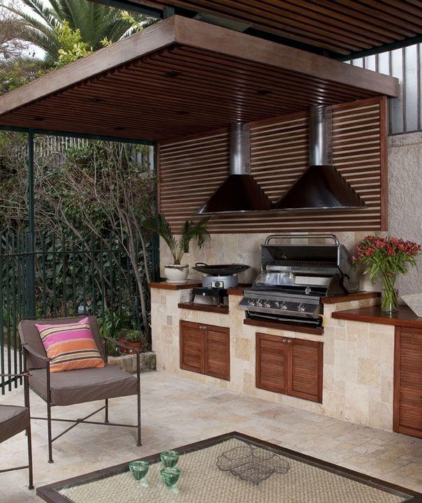 Parrillas empotrables bbq grill de top kitchen en 2019 for Fogones rusticos en ladrillo