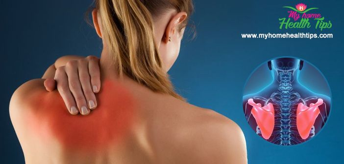 Get rid of Pain Between Shoulder Blades Pain or Sore Neck Muscles Fast