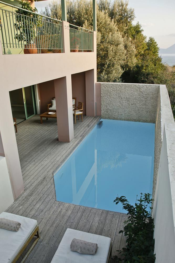 Ionian Nest | Apartments for sale by the Ionian sea in Pogonia Greece | Two bedroom apartment with pool