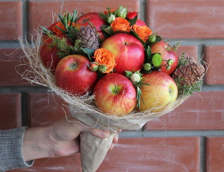 Эксклюзивные букеты из фруктов и овощей в Перми.