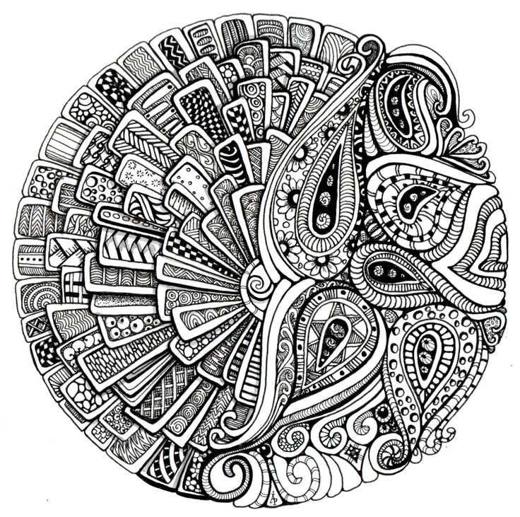 mandala coloring pages as therapy - photo#5