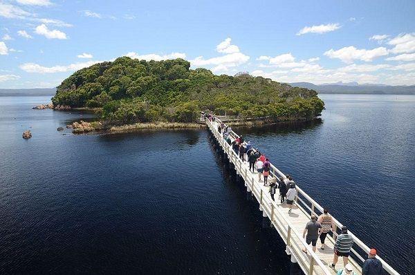 Sarah Island, cruise the Gordon River #Tasmania ~ photo by Dan Fellow, article for think-tasmania.com