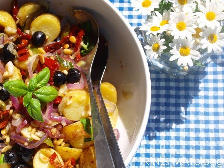 » Lun potetsalat med balsamicovinaigrette