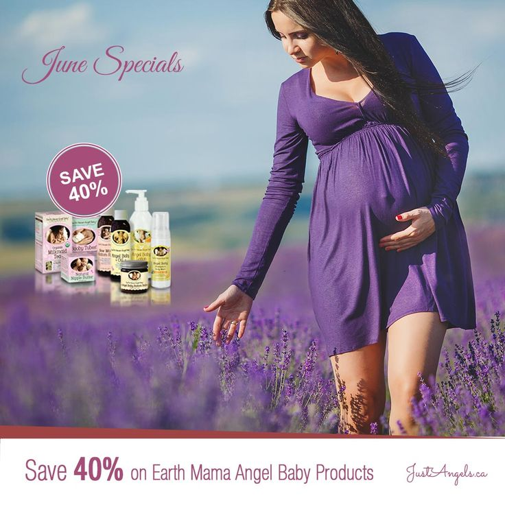 Save 40% on Earth Mama Angel Baby products till June 30th 2016.