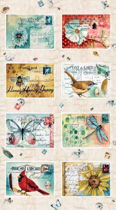 Pequeñas postales vintage