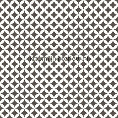 Retro donkergrijs plakfolie 13470 uit de collectie Gekkofix-collectie online bestellen bij kleurmijninterieur