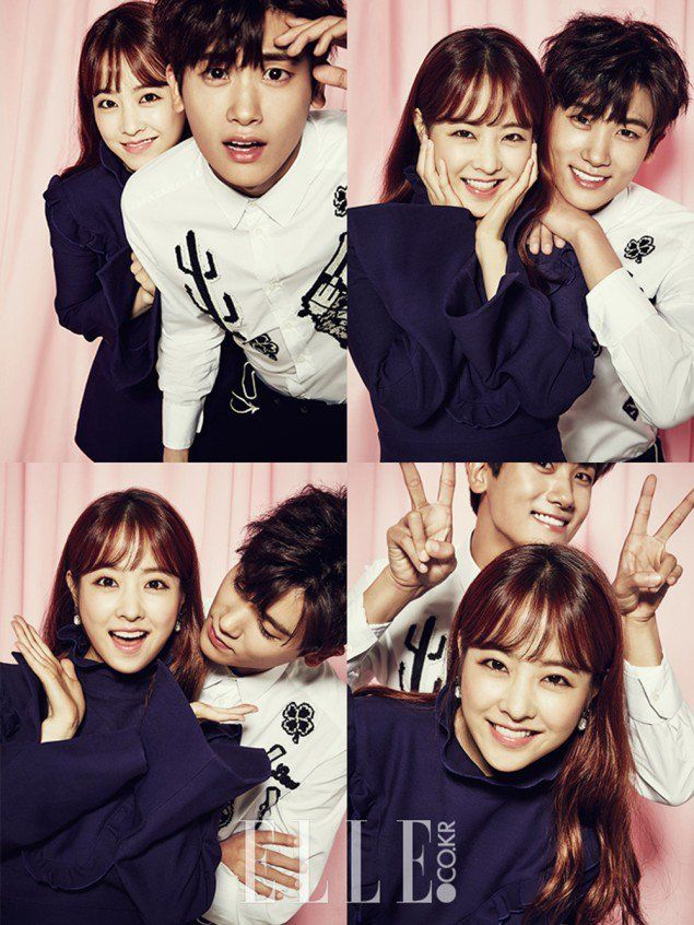 K-Drama Pairing Alert: Park Bo Young and Park Hyung Sik for Elle | Couch Kimchi