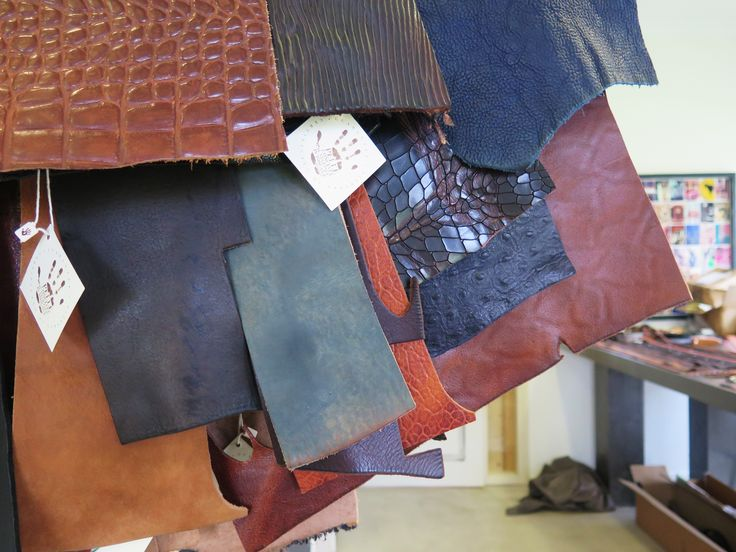 New leather qualities, all set for experimenting.