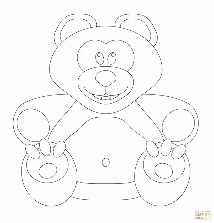 awesome free printable Pudsey Bear cartoon coloring pages ...