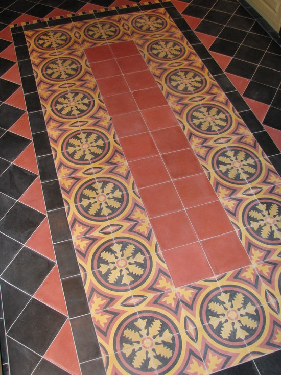 36 best tile stairs images on pinterest ladders tile for Spanish revival tile