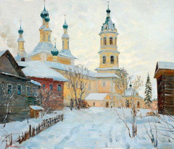 Художник Олег Молчанов картины