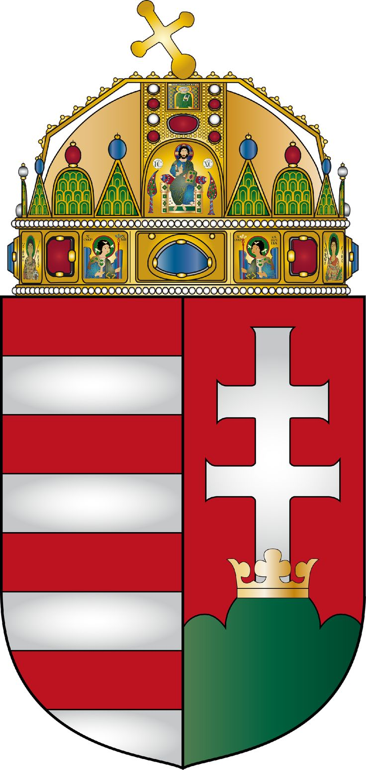coat of arms hungary | File:Coat of arms of Hungary.png - Wikimedia Commons
