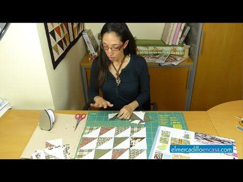 Cómo coser los bloques de patchwork de triángulos | Portaldelabores.com | Portal de labores | Aprender, Crear, Compartir