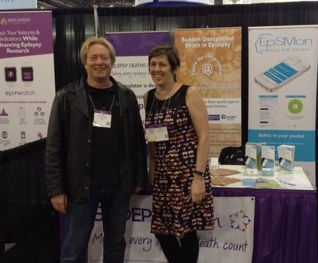 SUDEP Action highlights UK's EpSMon and the SUDEP and Seizure Safety Checklist at the American Epilepsy Society