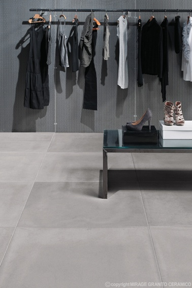 www.mirage.it  NOLITA Collection | #Architecture #Design #Ceramics #Tiles #Ecology #Grey #Shop #Floor #Modern