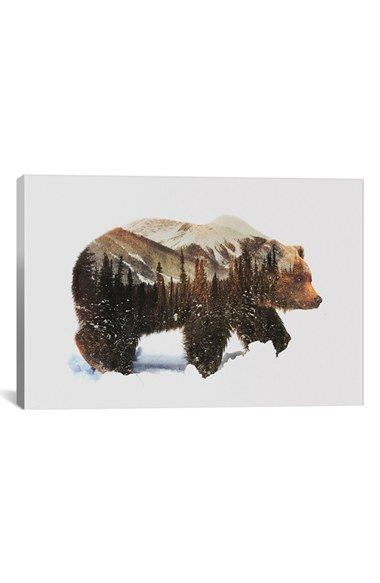 Free shipping and returns on iCanvas 'Grizzly Bear' Giclée Print Canvas Art at Nordstrom.com. Add brilliant color and exceptional detail to your living space with giclée canvas artwork that offers the texture, look and feel of fine-art paintings. Crafted in the USA, the piece is hand stretched and stapled over pinewood bars, while fade-resistant archival ink guarantees perfect color reproduction, so your art will remain vibrant for decades, even when exposed to strong light.