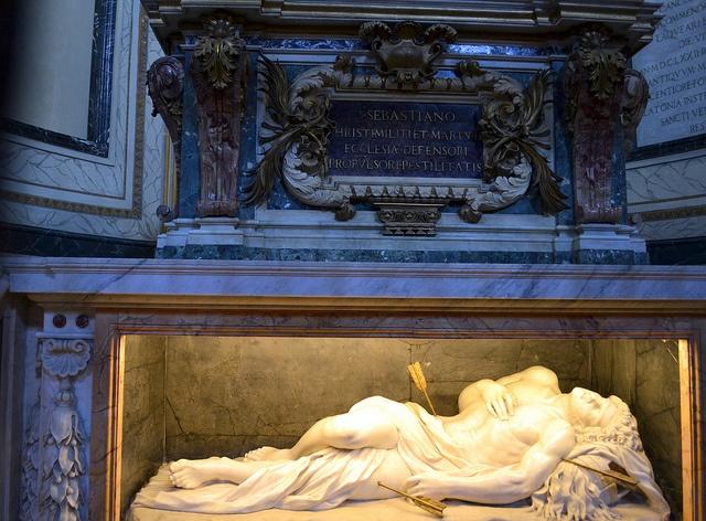 St. Sebastian's Monument - Catacombs of St. Sebastian - Rome by anspics, via Flickr